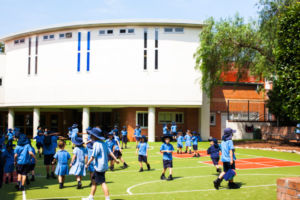 St Michaels Catholic Primary School Stanmore playgrounds